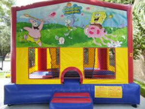 15x15 Sponge Bob Bounce House  rental San Antonio, TX