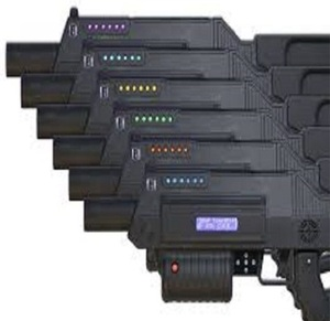 Battle Rifle Pro Laser Tag  rental San Antonio, TX
