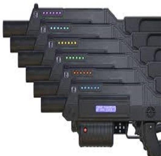 Battle Rifle Pro Laser Tag  rental San Antonio, TX