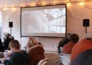 16' Outdoor Movie Package rental San Antonio, TX
