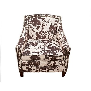 Cow Print Arm Chair rental San Antonio, TX