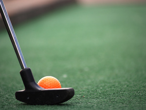 6 or 9 Hole Mini Golf rental San Antonio, TX