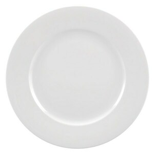 White China Salad and Dessert Plate rental San Antonio, TX