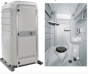 Flushable Portable Restroom rental San Antonio, TX