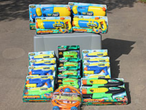 Water Gun Package rental San Antonio, TX