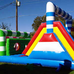 Candy Land Obstacle Course rental San Antonio, TX