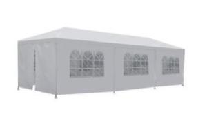 10 x 30 White Frame Tent rental San Antonio, TX