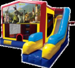 Bounce House Combo with Shrek Panel rental San Antonio, TX