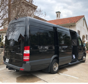 Mercedes Sprinter Luxury Limo rental San Antonio, TX