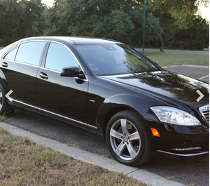 Mercedes S550 rental San Antonio, TX