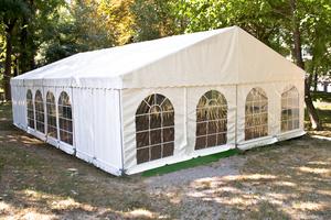 30 x 60 White Frame Tent rental San Antonio, TX