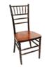 Fruitwood Chiavari Chair with Pad rental San Antonio, TX
