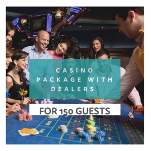 Casino Package for 150 People rental Houston, TX