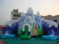 Snow Mountain Inflatable Slide rental Houston, TX