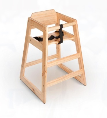 Wooden High Chair rental Houston, TX