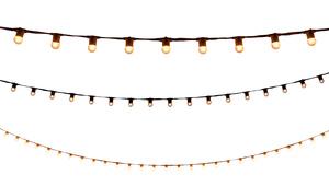 String Lights - 100' White rental Houston, TX
