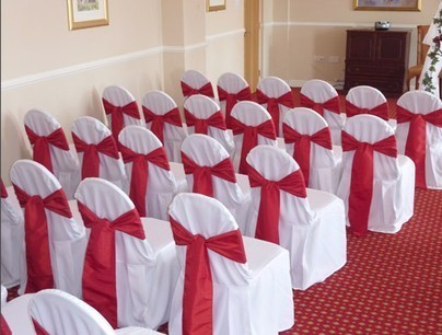 Chair Covers with Sash rental Houston, TX