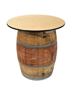 Wine Barrel Cocktail Table rental Houston, TX