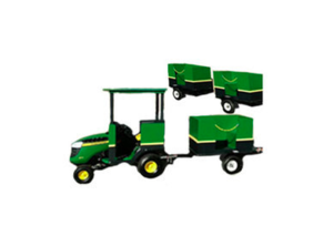 Tractor Trackless Train rental Houston, TX