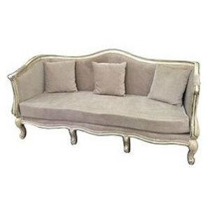 French Country Sofa rental Houston, TX