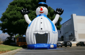 Inflatable Frosty Bounce House rental Houston, TX