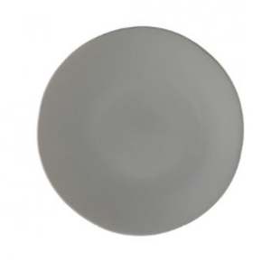 Grey Dinner Plate rental Houston, TX