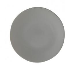 Grey Dinner Plate rental Houston, TX