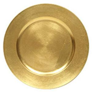 "Gold Acrylic Charger 13"" rental Houston, TX"