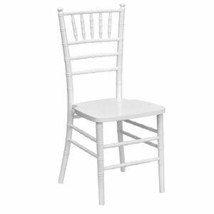 White Chiavari Chair with Pad rental Houston, TX