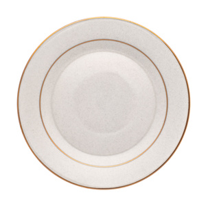 Gold or Silver Rimmed China rental Houston, TX