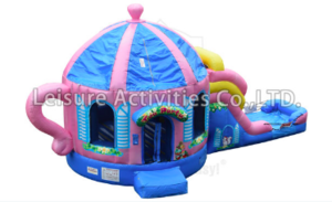 Tea Cup Bounce House and Slide rental Houston, TX