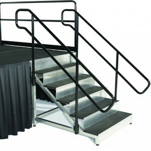 Stage Stairs with Handrails rental Houston, TX