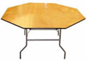 "48"" Octagon Table rental Houston, TX"