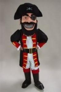 Pirate Mascot Costume rental Houston, TX