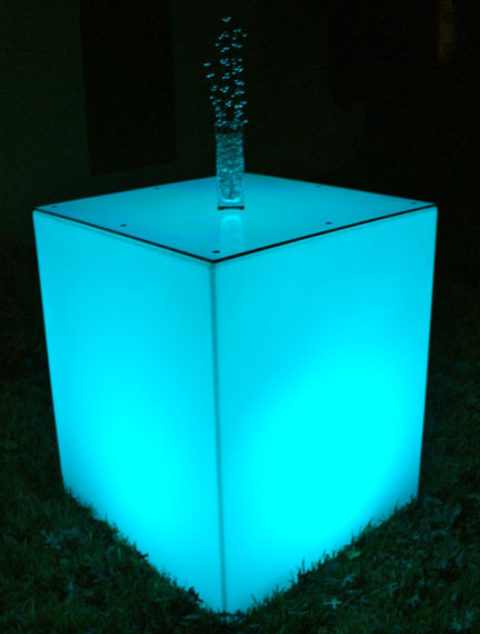 Glo Large Square Cocktail Tables rental Houston, TX