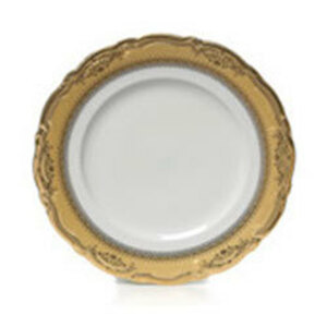 Gold Edge China Salad and Dessert Plate rental Houston, TX