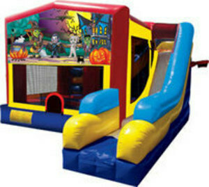 Halloween Bounce House rental Houston, TX