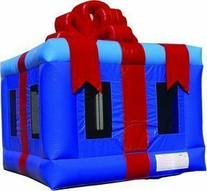 Christmas Gift Box Bounce House  rental Houston, TX