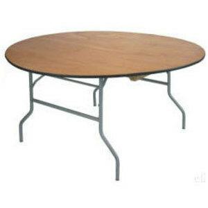 """36"""" Round Table  rental Houston, TX"""