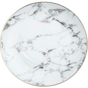 Marble Gold Rim Dinner Plate rental Houston, TX