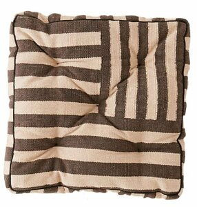 Striped Floor Cushion rental Houston, TX