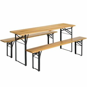Table & Bench Set rental Houston, TX