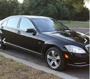 Mercedes S550 rental Houston, TX
