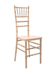 Natural Chiavari Chair with Pad rental Houston, TX