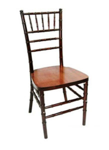 Fruitwood Chiavari Chair with Pad rental Houston, TX