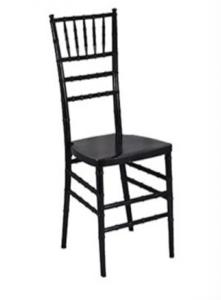 Black Chiavari Chair with Pad rental Houston, TX