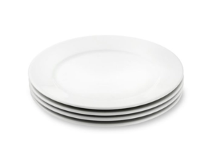 White China Dinner Plate rental Houston, TX