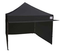 10 x 10 Black Pop Up Tent with Canopy rental Houston, TX
