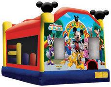 Mickey Bouncy House Combo rental Houston, TX