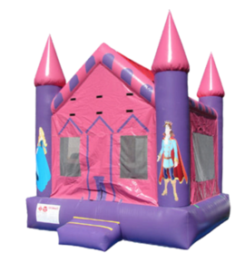 Small Castle Bouncy House rental Houston, TX